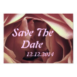 Salvar o botão cor-de-rosa da data convites personalizado