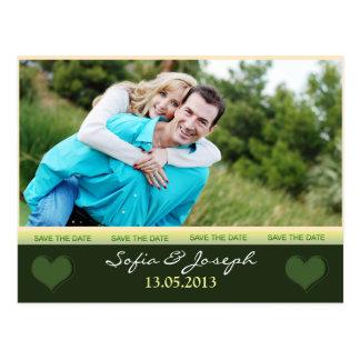 salvar o cartão da data com foto cartões postais