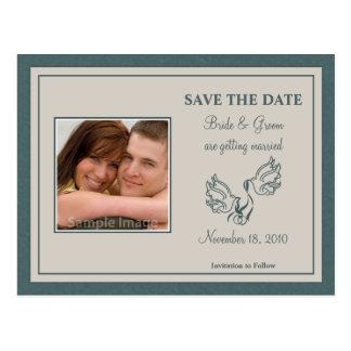 Salvar o cartão da foto da data - pombas da cercet cartao postal
