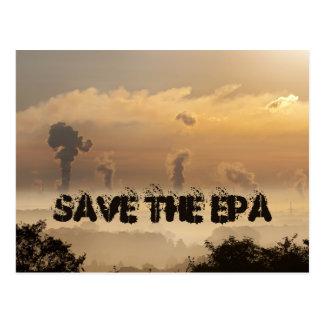Salvar o cartão de EPA