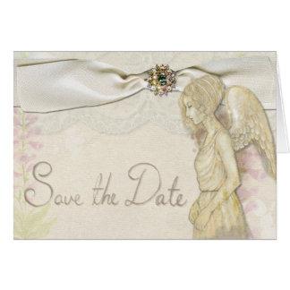 Salvar o cartão do anjo da data