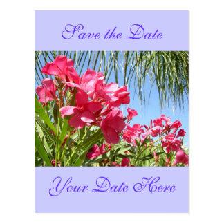 Salvar o cartão do Oleander da data