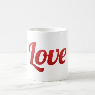 Salvar o casamento vermelho do amor da data caneca