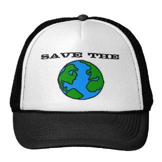 Salvar o chapéu da terra boné