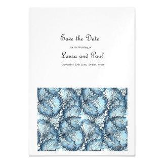 Salvar o convite artístico do casamento da data