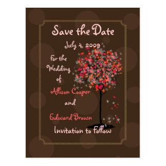Salvar o fudge de chocolate dos cartão da data no