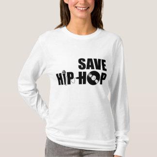 Salvar o hip-hop camiseta
