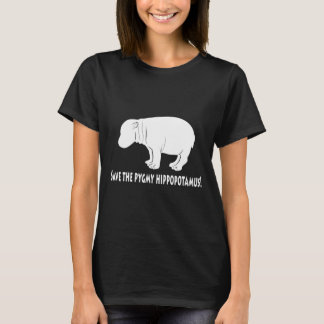Salvar o hipopótamo do Pigmy Camiseta