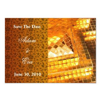 Salvar o mosaico ambarino de pedra preciosa do
