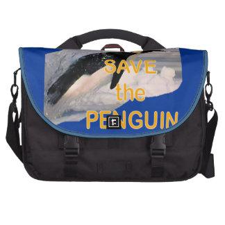 Salvar o pinguim bolsas para notebook