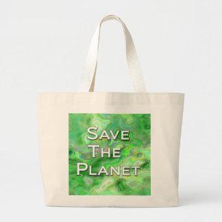 Salvar o planeta bolsas