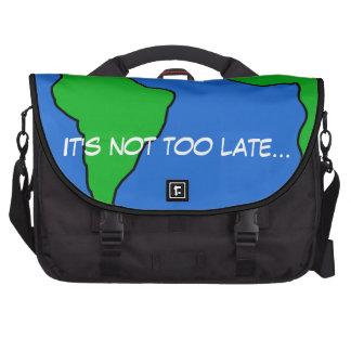 Salvar o planeta maletas para notebooks