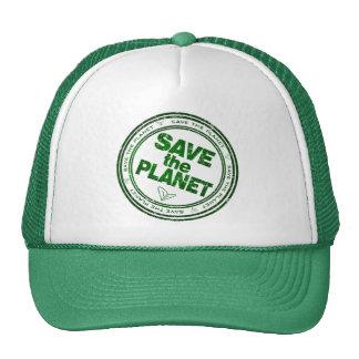 salvar o planeta boné