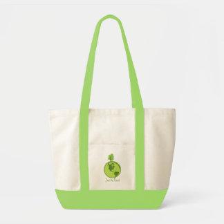 Salvar o planeta - vai o verde sacola tote impulse