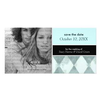 Salvar os anúncios do cartão com fotos da data {a