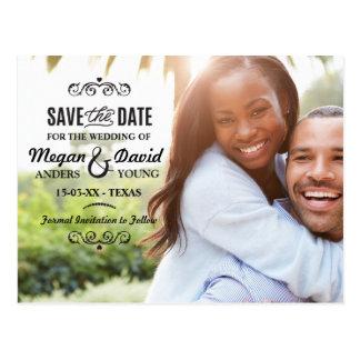 Salvar os cartões com fotos da data que Wedding o