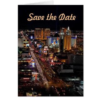 Salvar os cartões de Las Vegas da data