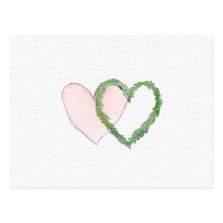 Salvar os corações do louro da data ou do cartão