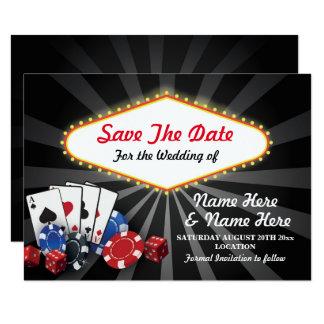 Salvar os dados dos cartões do casino de Las Vegas
