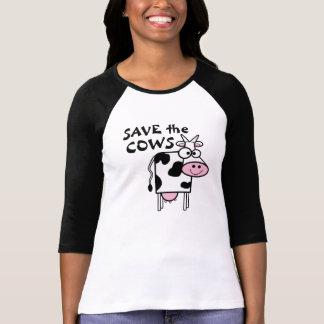 Salvar os direitos dos animais das vacas t-shirts