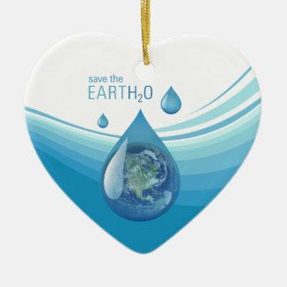 Salvar os ornamento da água