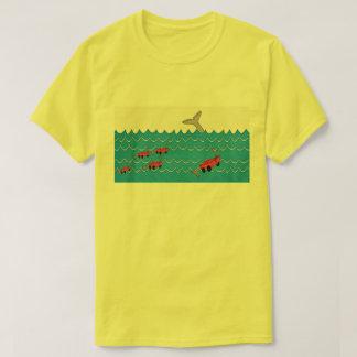 salvar os peixes camiseta