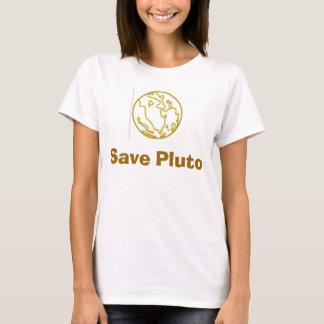 Salvar Pluto Camiseta