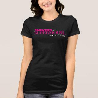 Salvar por uma camisa do T das mulheres do