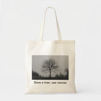 Salvar uma árvore bolsa tote