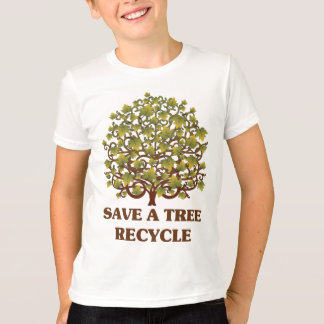 Salvar uma árvore camiseta