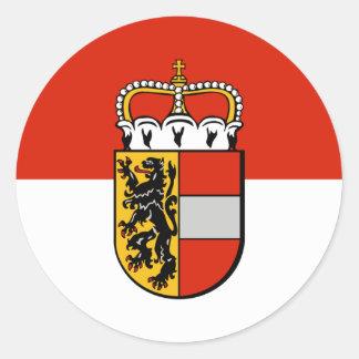 Salzburg, Áustria Adesivo Redondo