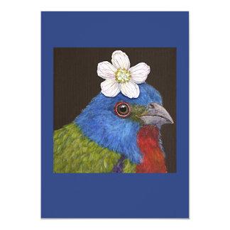 Sam o cartão liso bunting pintado