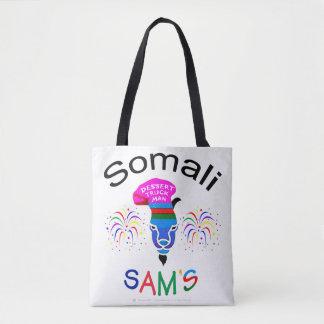"""""""Sam somaliano, o bolsa feito sob encomenda do"""