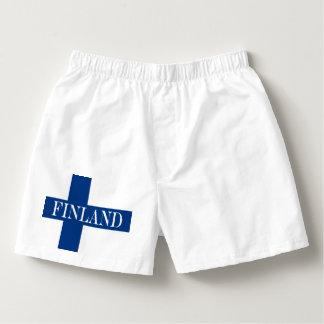 Samba-canção Bandeira de Finlandia Suomi transversal azul