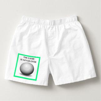 Samba-canção golfing