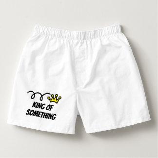 Samba-canção O rei engraçado de algo pugilista shorts a ideia
