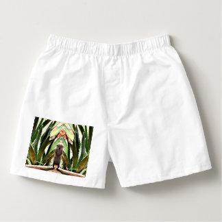 Samba-canção Pugilista Shorts do rei Homem
