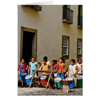 Samba de Rua Cartão