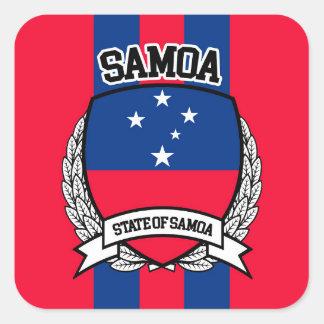 Samoa Adesivo Quadrado