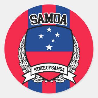 Samoa Adesivo Redondo