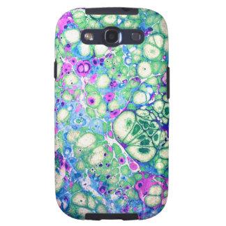 Samsung encaixota Razzle brilha o caso abstrato Capas Personalizadas Samsung Galaxy S3