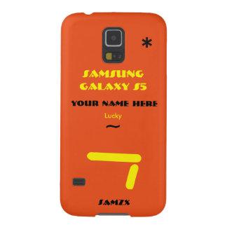 Samsung S5 personaliza seu caso seu nome Capas Par Galaxy S5