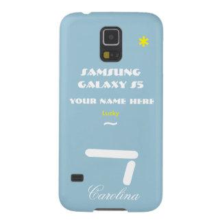 Samsung S5 personaliza seu caso seu nome Capinha Galaxy S5