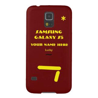 Samsung S5 personaliza seu caso seu nome Capinhas Galaxy S5