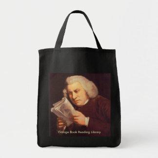 Samuel Johnson - leitura Sacola Tote De Mercado