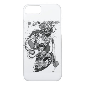 Samurai da gueixa capa iPhone 7
