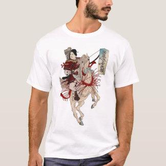 Samurai da mulher camiseta
