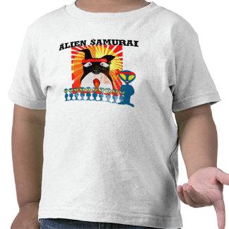Samurai estrangeiro t-shirts