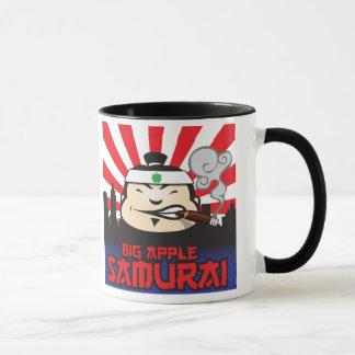 Samurai grande de Apple Caneca