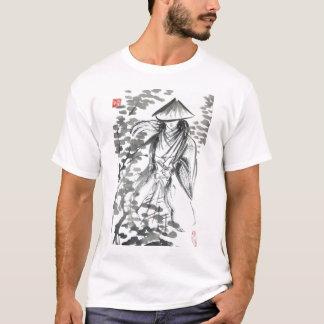 Samurai nos homens de Forst e na camisa unisex de